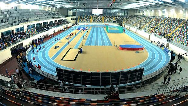 estádio Atakoy Athletics Arena do Mundial de Atletismo Indoor na Turquia (Foto: Divulgação / Site Oficial)