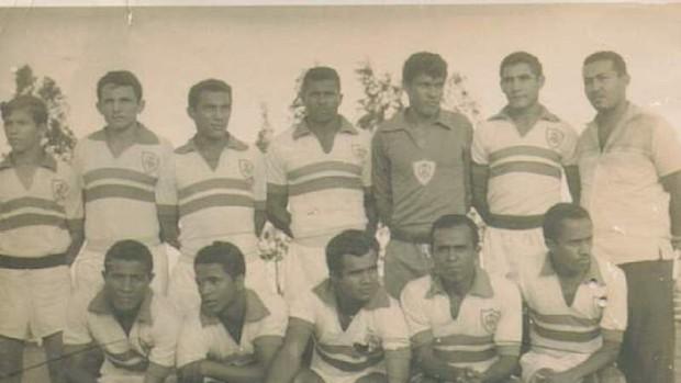 Time do Itabaiana Campeão Sergipano em 1969 (Foto: Divulgação/FSF)