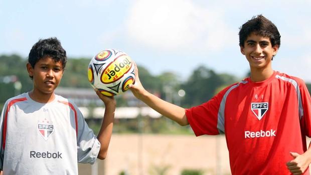 Josué Henrique William McLaren são paulo (Foto: Anderson Rodrigues/Globoesporte.com)