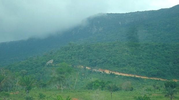 Ciclismo do Amazonas na serra do tequém, Roraima (Foto: Divulgação)