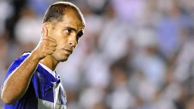 Felipe na partida do Vasco contra o Alianza (Foto: Dhavid Normando / Futura Press)