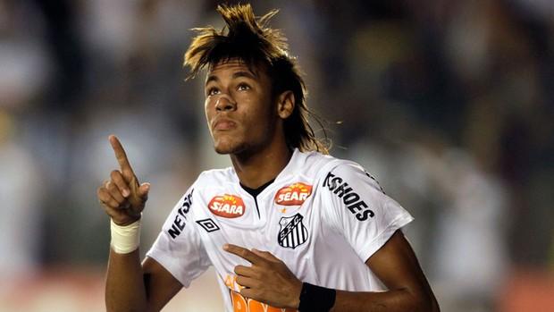 neymar santos x internacional (Foto: AP)