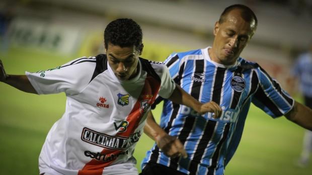 River e Grêmio (Foto: Fillipe Araújo/GLOBOESPORTE.COM)