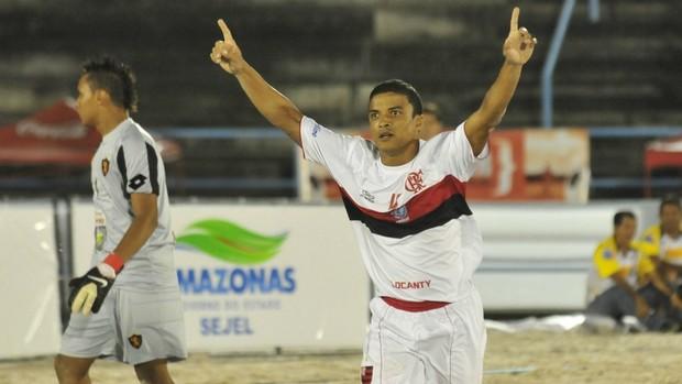 Flamengo x Sport Recife Copa Brasil de futebol de areia (Foto: Antonio Lima)