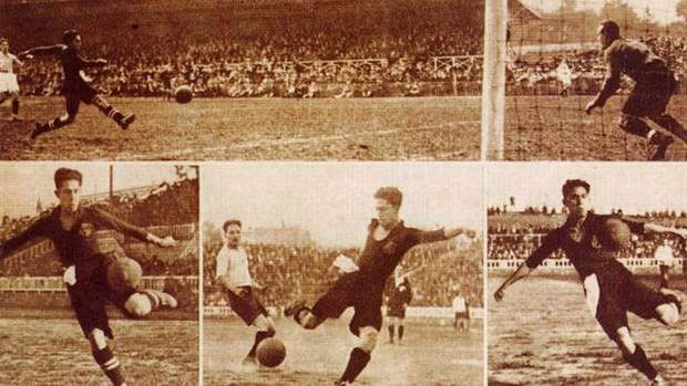 Paulino Alcántara - Barcelona (Foto: Divulgação / Site Oficial do Barcelona)