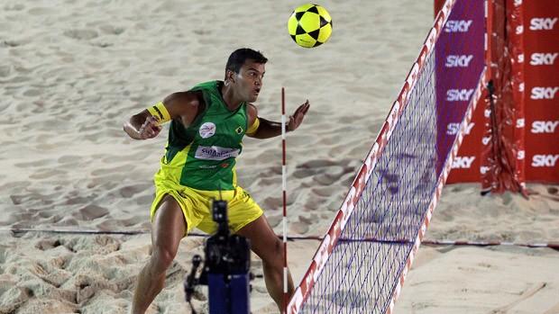 Fábio Mundial de Futevôlei Brasil 2 campeão 2 (Foto: Marcello Pires / SporTV.com)