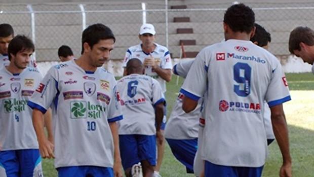 Luis Mário durante treino do Catanduvense (Foto: Fernando Veteri/Catanduvense)