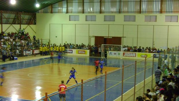 São Manuel X Botucatu - Copa TV TEM de Futsal (Foto: Alan Schneider/ GLOBOESPORTE.COM)