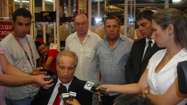 luigi inter presidente inter reforma beira-rio (Foto: Tomás Hammes/GLOBOESPORTE.COM)
