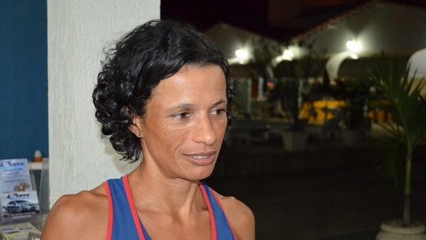 Marizete quer ir para Londres (Foto: Thiago Barbosa/GLOBOESPORTE.COM)