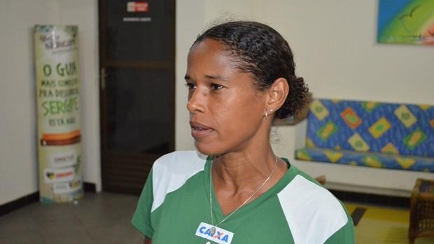 Marluce participou 10 vezes da corrida (Foto: Thiago Barbosa/GLOBOESPORTE.COM)