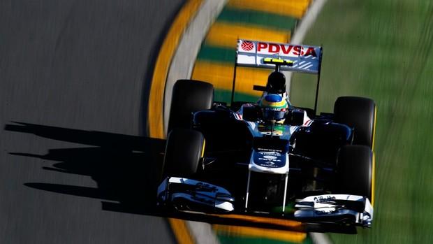 F1 GP da Austrália Bruno Senna treino classicatório (Foto: Getty Images)