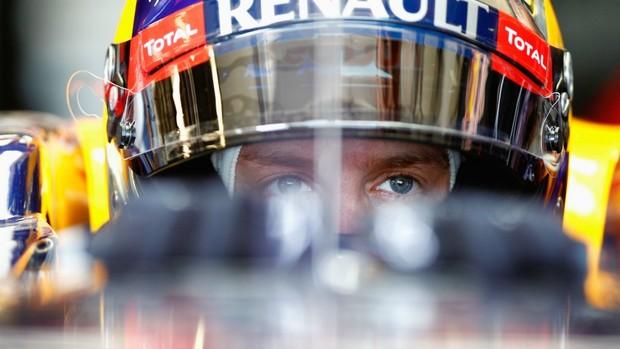 Vettel foi apenas o sexto colocado no treino em Melbourne (Foto: Getty Images)