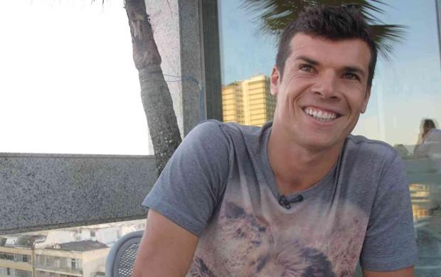 Entrevistão - Wagner, jogador do Fluminense (Foto: Edgard Maciel de Sá/Globoesporte.com)