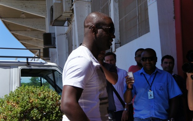 Zé Roberto se apresentou normalmente no Inter (Foto: Diego Guichard / GLOBOESPORTE.COM)