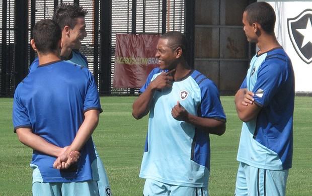 jobson treino botafogo (Foto: Thales Soares/GLOBOESPORTE.COM)