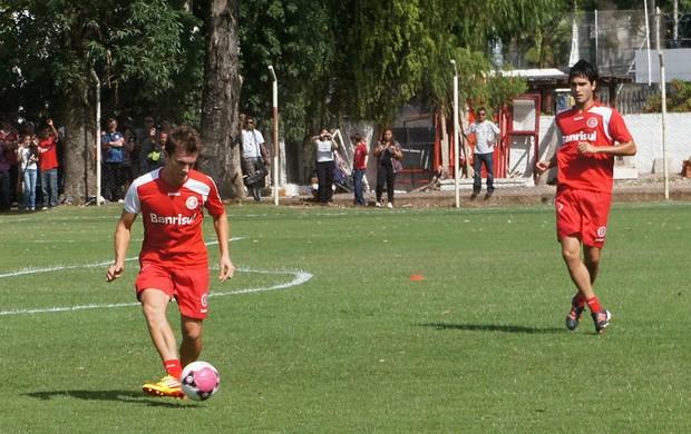 Dagoberto no treino do Inter (Foto: Diego Guichard/Globoesporte.com)