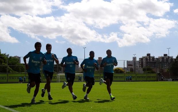 Treino Grêmio Olímpico (Foto: Eduardo Cecconi/GLOBOESPORTE.COM)