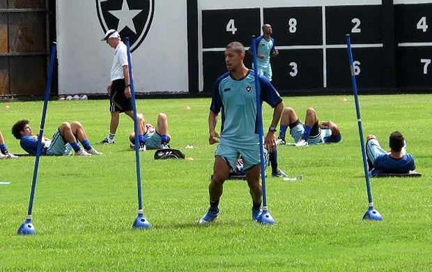 antonio carlos botafogo treino (Foto: Thales Soares / Globoesporte.com)