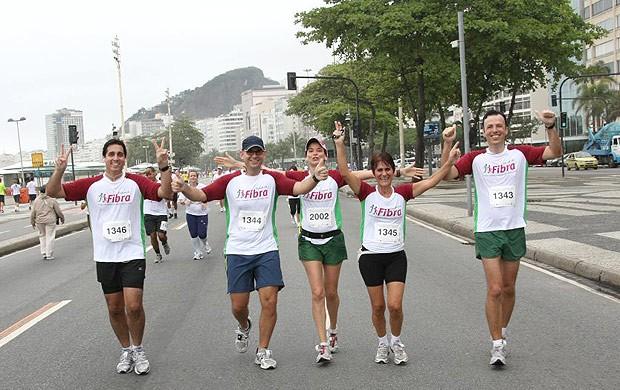 Corrida de rua fibrose cística (Foto: Arquivo Pessoal)