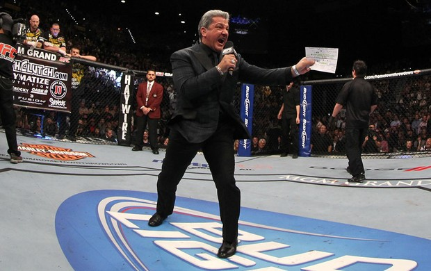 bruce Buffer ufc (Foto: Getty Images)