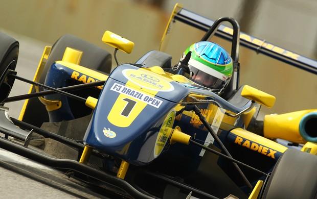 Lucas Foresti vence o Brasil Open de Fórmula 3 em Interlagos (Foto: Luca Bassani/ Divulgação)