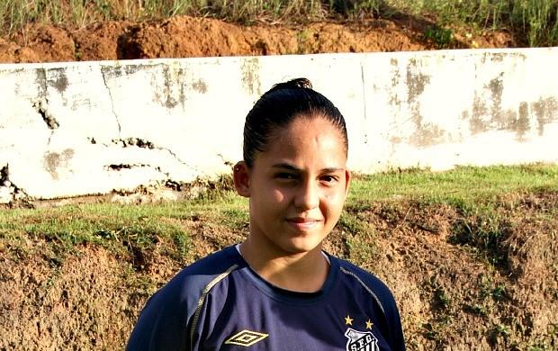 Jeniffer Leonela futebol feminino (Foto: Frank Cunha / Globoesporte.com)