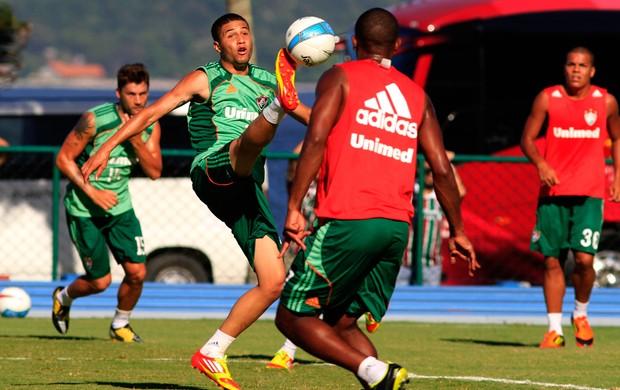 Bruno, lateral do Fluminense (Foto: Rafael Cavalieri/Globoesporte.com)