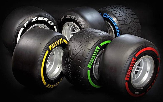 Fórmula 1 pneus 2012 Pirelli (Foto: Divulgação / Site Oficial Pirelli)