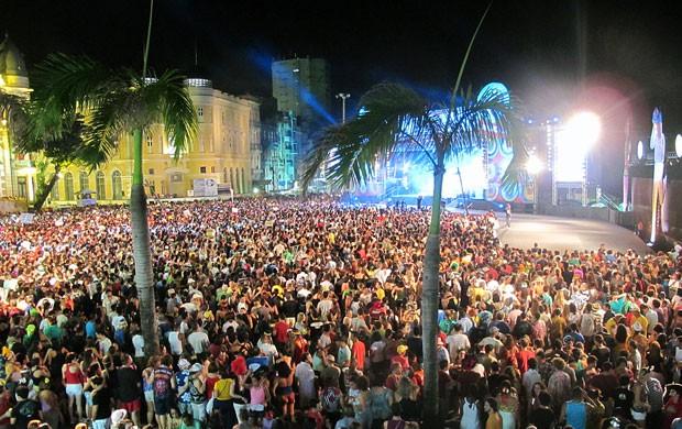 Marco Zero - Fifa Fan Fest (Foto: Claudia Silveira/G1)