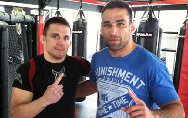 UFC - Fabricio Werdum e Jake Ellenberger (Foto: Divulgação)