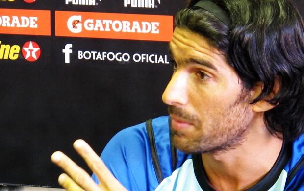 loco abreu botafogo (Foto: André Casado / GLOBOESPORTE.COM)