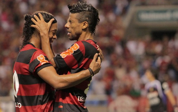 Golaço e vaga (Marcelo Theobald/Globo )