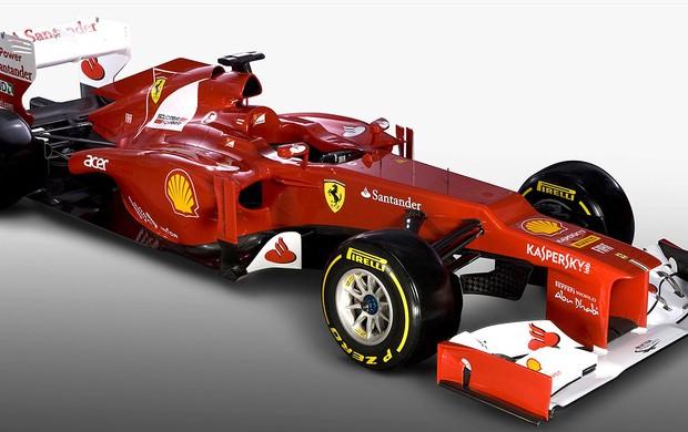 apresentação do carro da Ferrari para 2012 (Foto: AFP)
