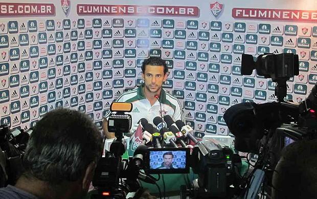 Fred coletiva Fluminense (Foto: Edgard Maciel / Globoesporte.com)
