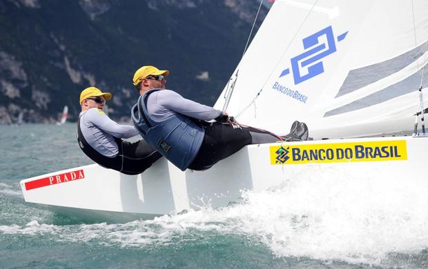 vela Robert Scheidt e Bruno Prada (Foto: Fabrizio Prandini / Divulgação)
