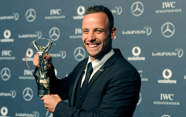 Oscar Pistorius laureus (Foto: Reuters)