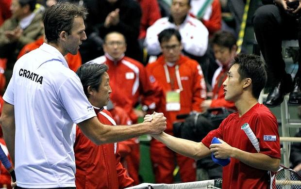 Ivo Karlovic Croácia Copa Davis (Foto: AFP)