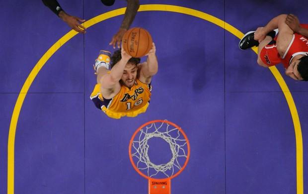 NBA Pau Gasol Los Angeles Lakers (Foto: Getty Images)
