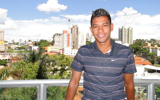 Wallyson, atacante do Cruzeiro (Foto: Ana Paula Moreira / Globoesporte.com)