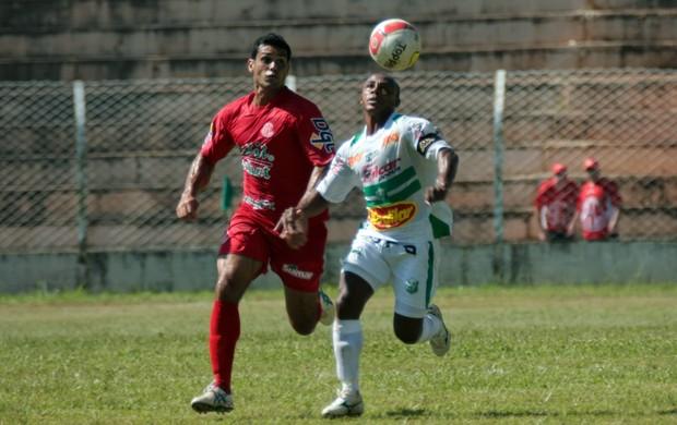 Lance do jogo Rio Preto 3 x 0 América pela Série A2 do Campeonato Paulista (Foto: Sidnei Costa/Agência BOM DIA)