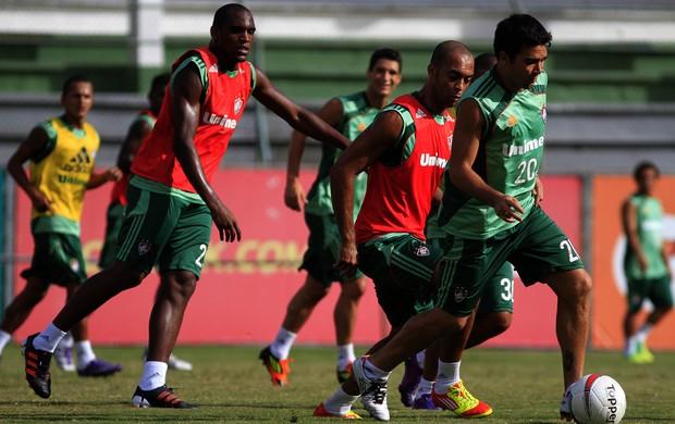 deco leandro euzébio fluminense (Foto: Nelson Perez/FluminenseF.C.)