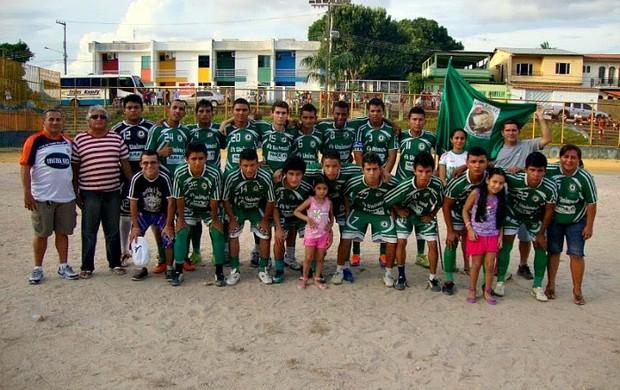 Santa Rita campeão da Liga do Aleixo Sub-20 (Foto: Liga do Aleixo/Divulgação)