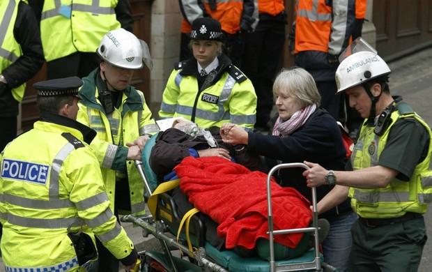 Londres terrorismo olimpíadas simulação de segurança (Foto: Reuters)