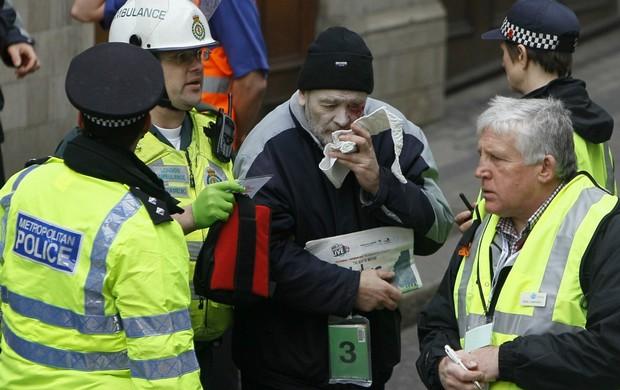 Londres terrorismo olimpíadas simulação de segurança (Foto: AP)
