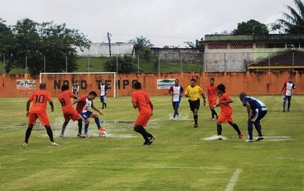 Fast jogou com o time reserva, mas venceu o Holanda por 1 a 0 (Foto: Divulgação/Fast Clube)