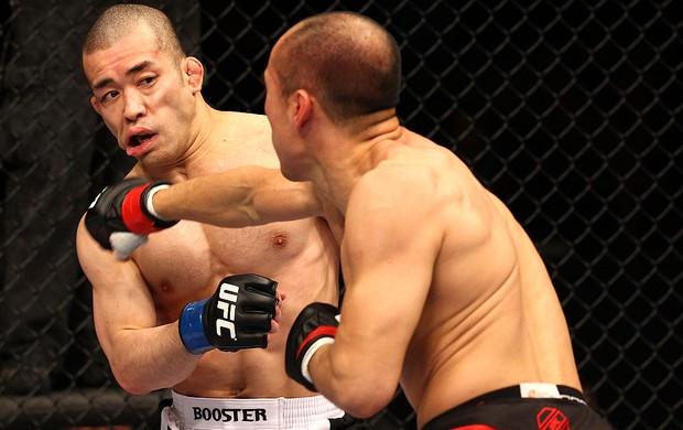 UFC 144 Tiequan Zhang; Issei Tamura (Foto: Agência Getty Images)
