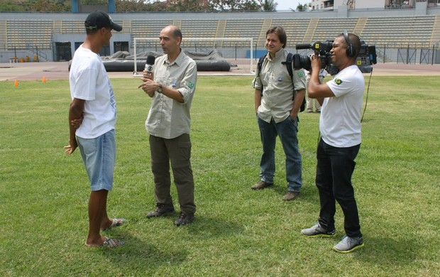 Rivaldo Esporte Espetacular (Foto: Rafael Freitas/TV Globo)