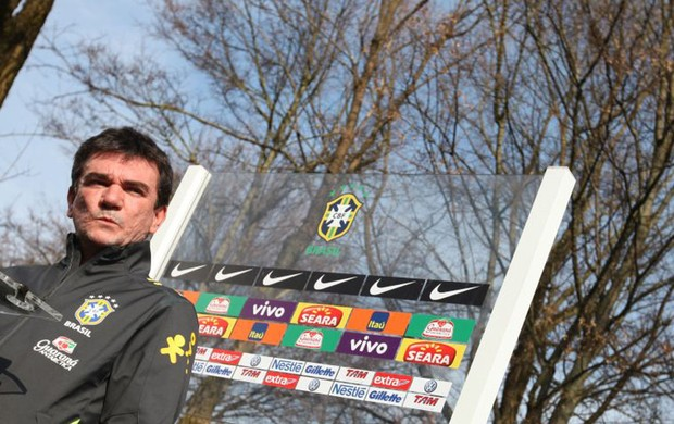 Andres Sanches na Seleção (Foto: Marcio Iannacca / GLOBOESPORTE.COM)