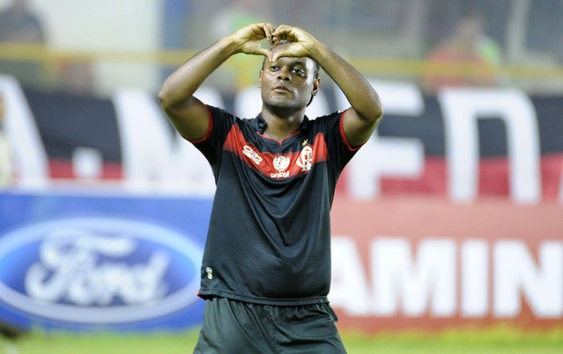 Vagner Love gol Flamengo (Foto: Alexandre Vidal / Fla imagem)
